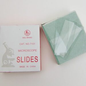 Blank Glass Slides